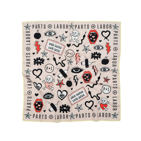 LOVE AUTHORITY scarf