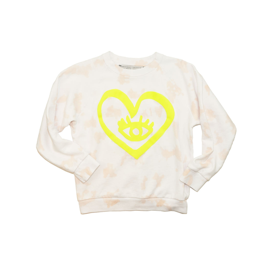 HEART + EYE sweatshirt