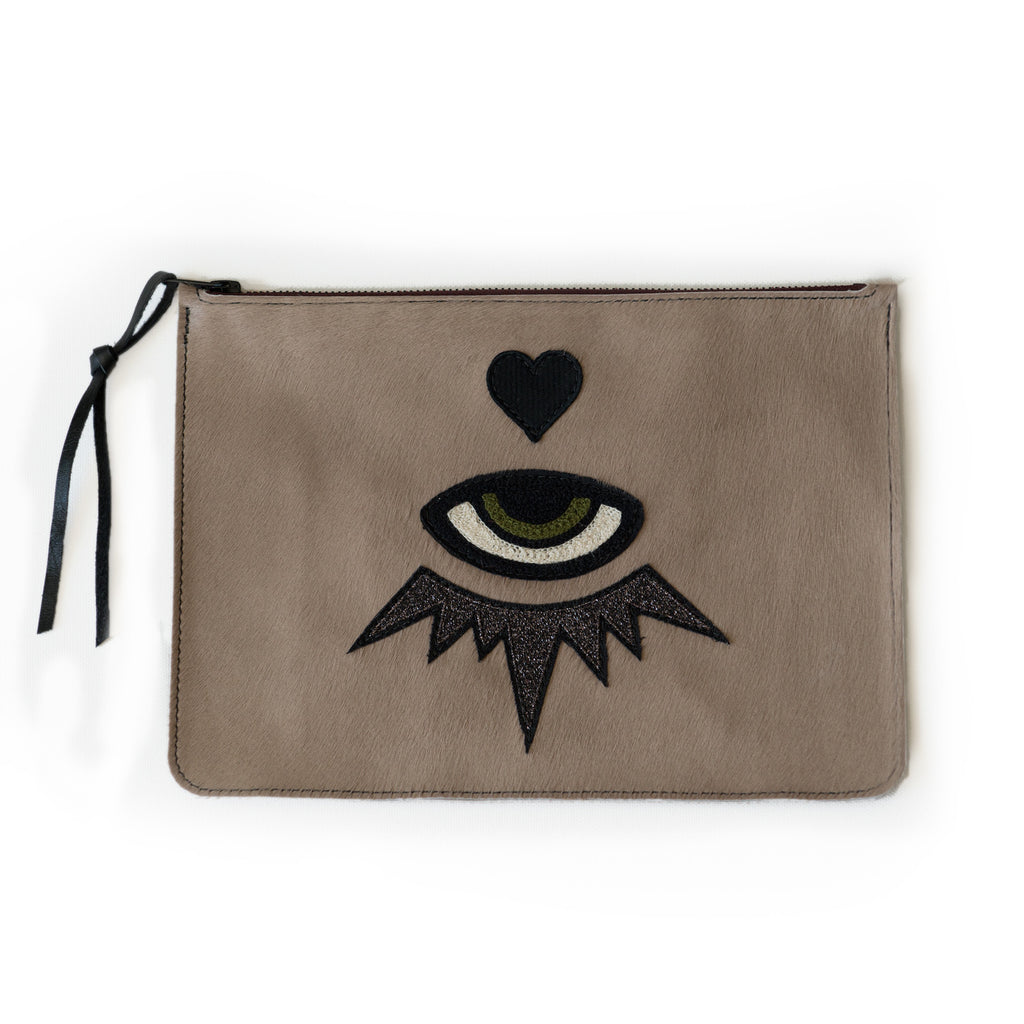 love + luck CLUTCH