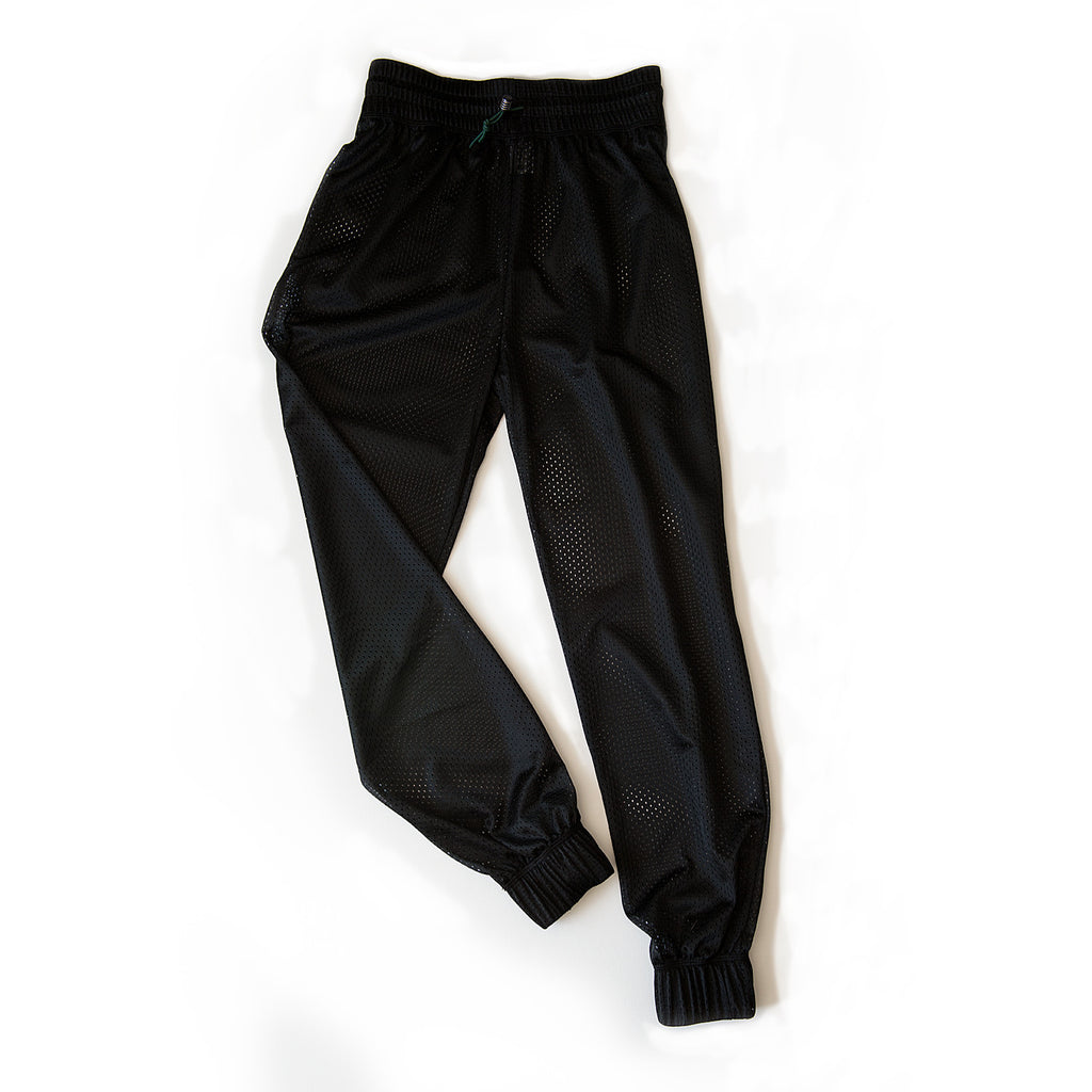 court to street - HIGH WAISTED MESHIE JOGGERS