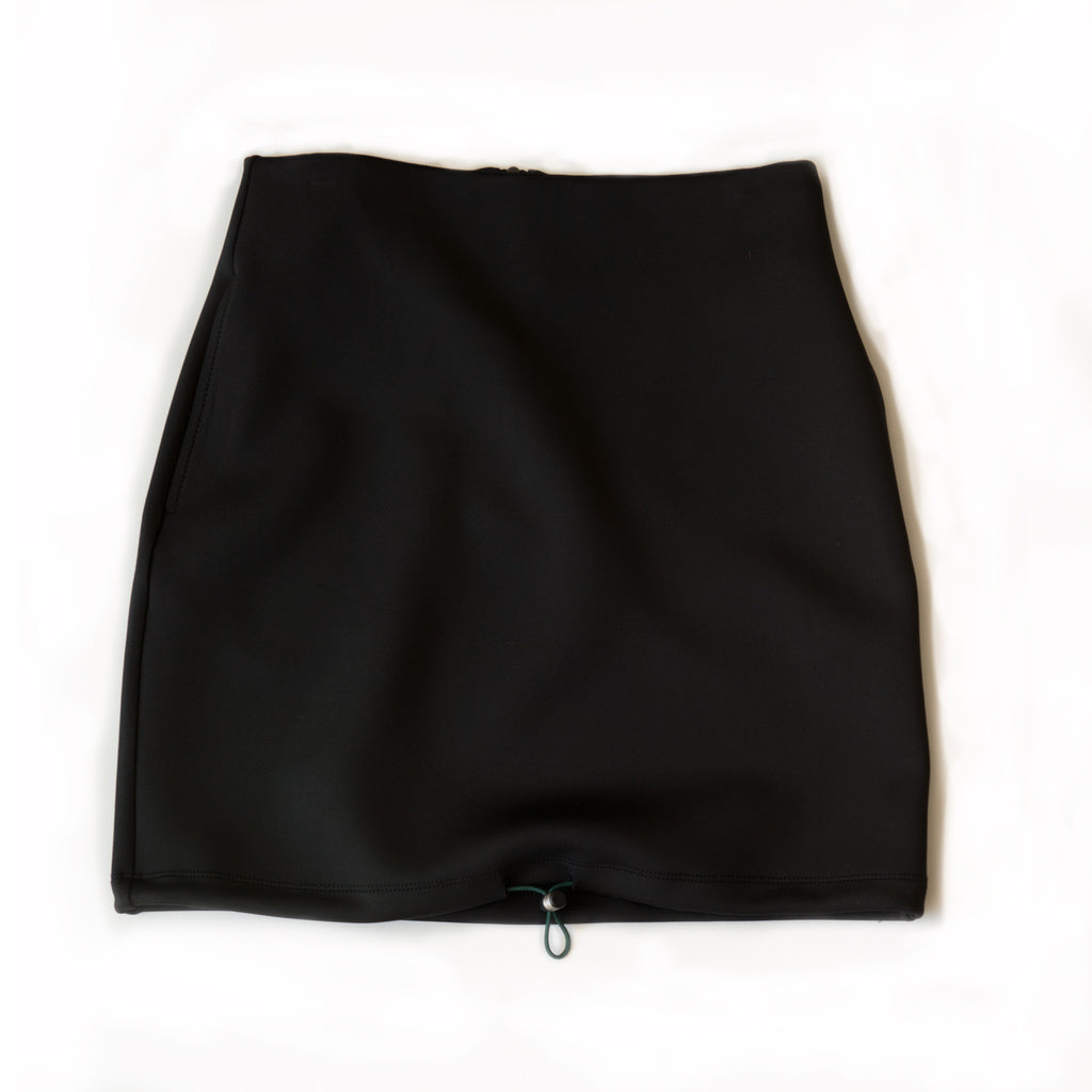 HIGH WAISTED scuba skirt