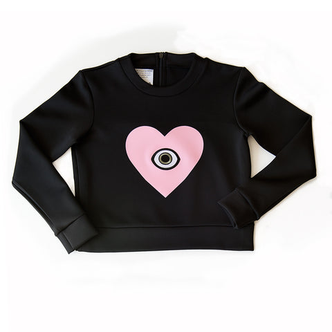 love + luck - SCUBA SWEATSHIRT