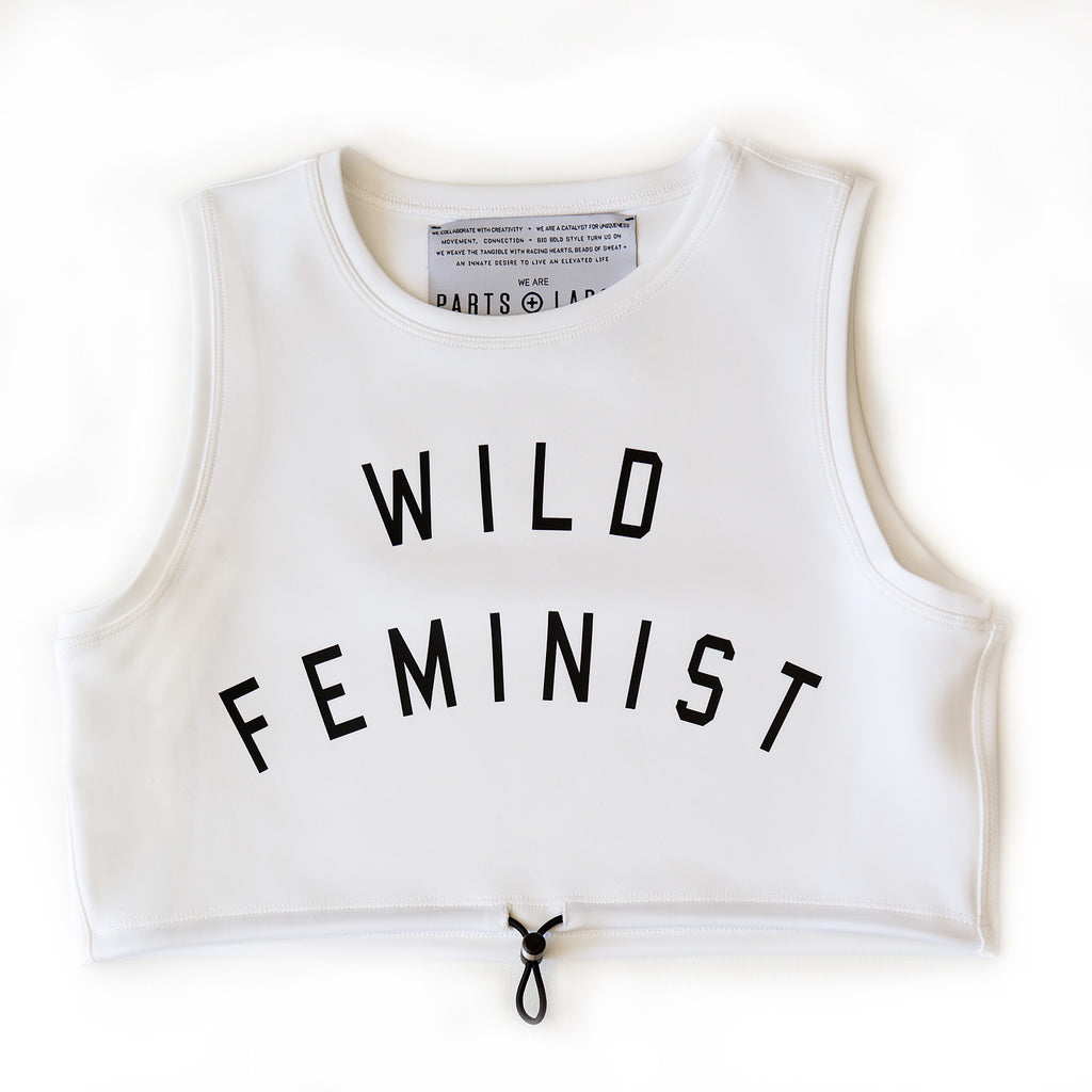 wild feminist - TO THE [TOP] CROP TANK