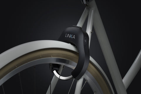 LINKA Smart Bike Lock⠀