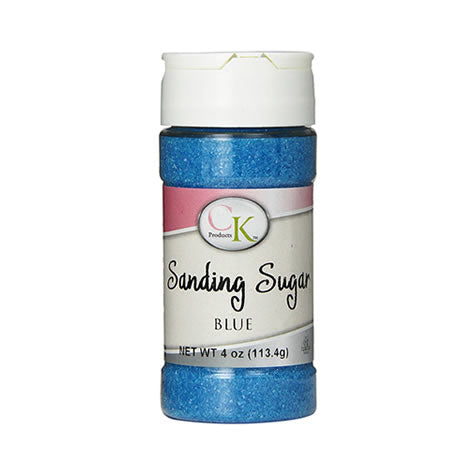 CK Products Sanding Sugar Bottle, 4 Ounce, Blue