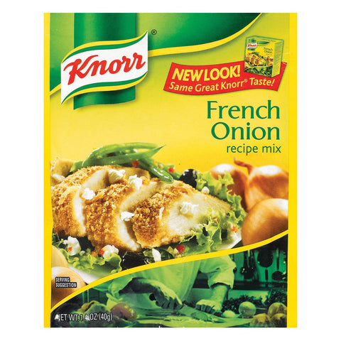 Knorr Recipe Mixes - French Onion - Case Of 12 - 1.4 Oz.