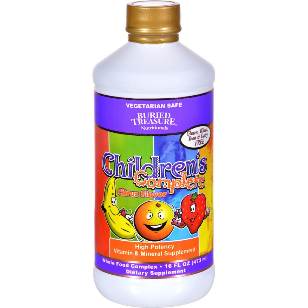 Buried Treasure Children's Complete Citrus - 16 Fl Oz