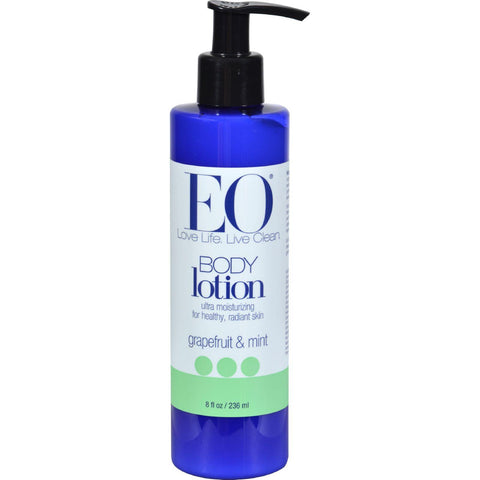 Eo Products Everyday Body Lotion Grapefruit And Mint - 8 Fl Oz