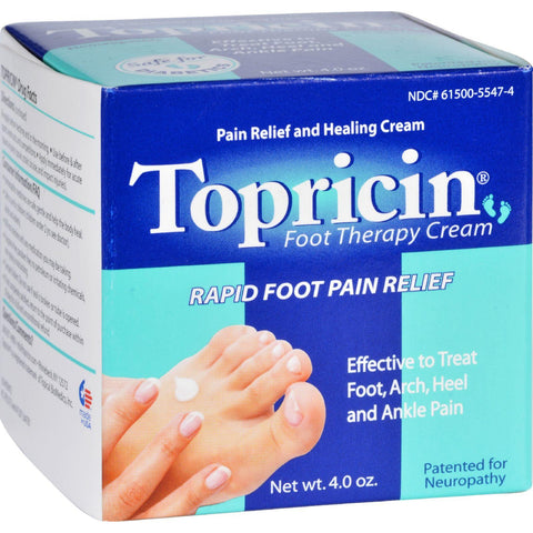 Topricin Foot Therapy - 4 Oz