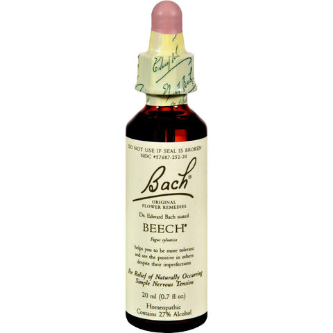 Bach Flower Remedies Essence Beech - 0.7 Fl Oz