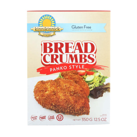 Kinnikinnick Bread Panko Style - Case Of 6 - 12.5 Oz.