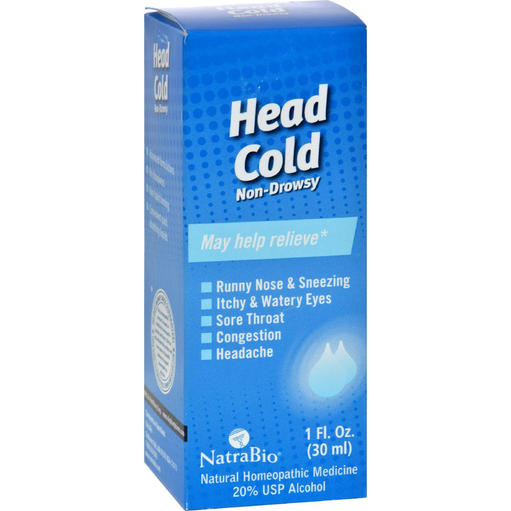Natrabio Head Cold Non-drowsy - 1 Fl Oz