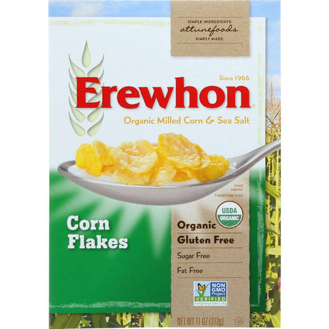 Erewhon Cereal - Organic - Corn Flakes - 11 Oz - Case Of 12