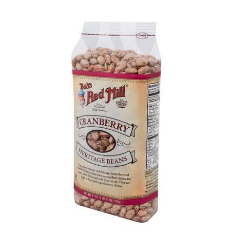 Bob's Red Mill Cranberry Beans - 27 Oz - Case Of 4