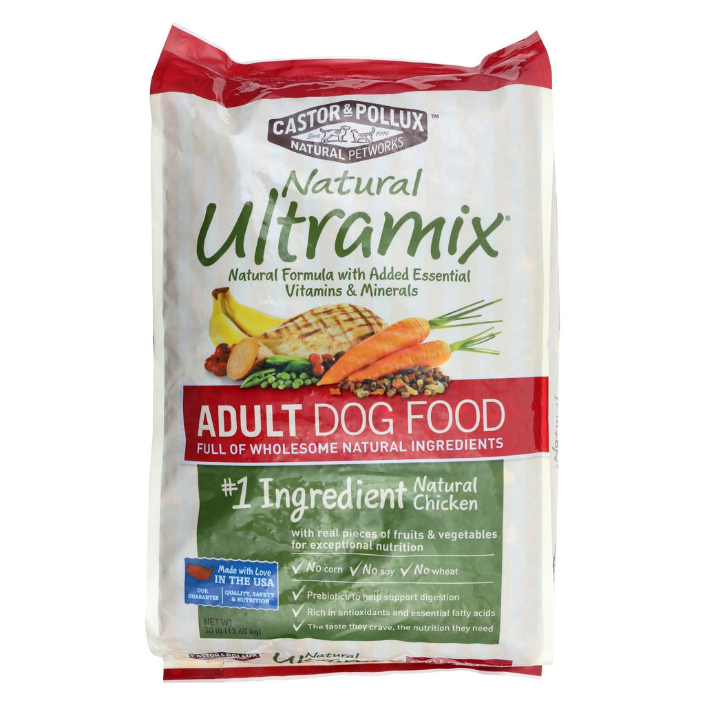 Castor And Pollux Ultra Mix Adult Dog Food - Case Of 1 - 30 Lb.