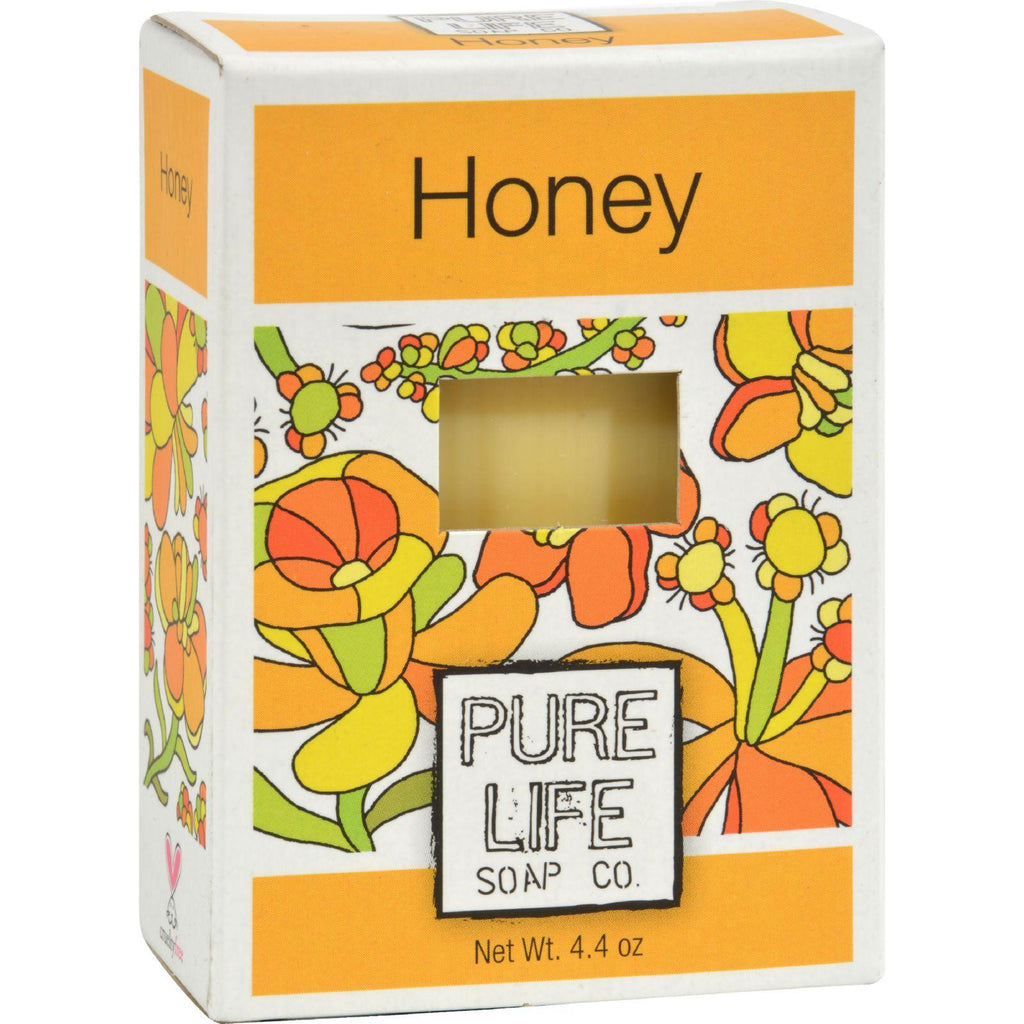 Pure Life Soap Honey - 4.4 Oz