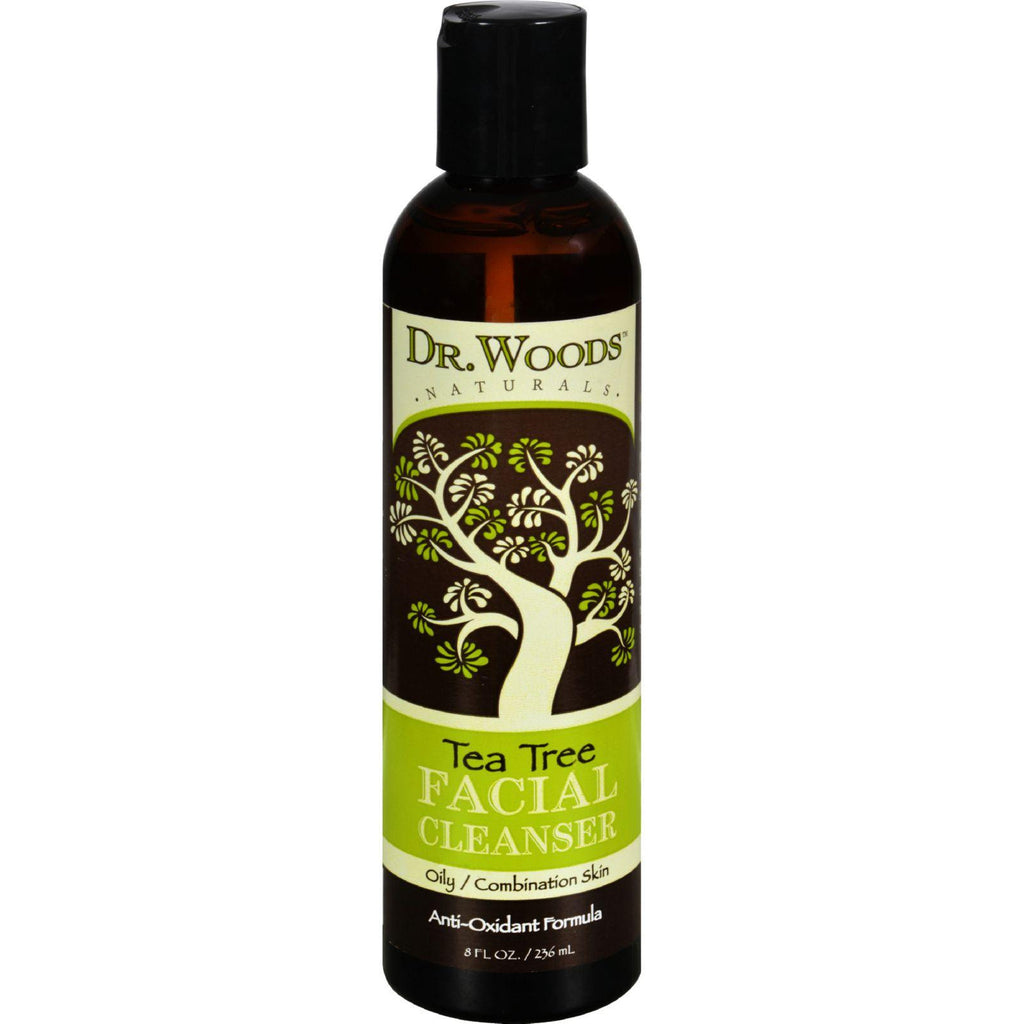 Dr. Woods Facial Cleanser - Tea Tree - 8 Oz
