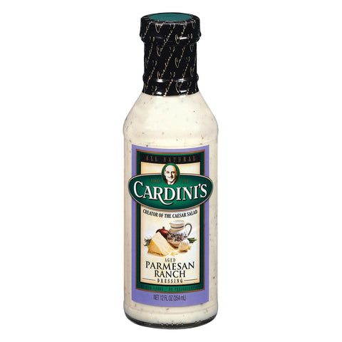 Cardini's Dressing - Aged Parmesan Ranch - Case Of 6 - 12 Fl Oz