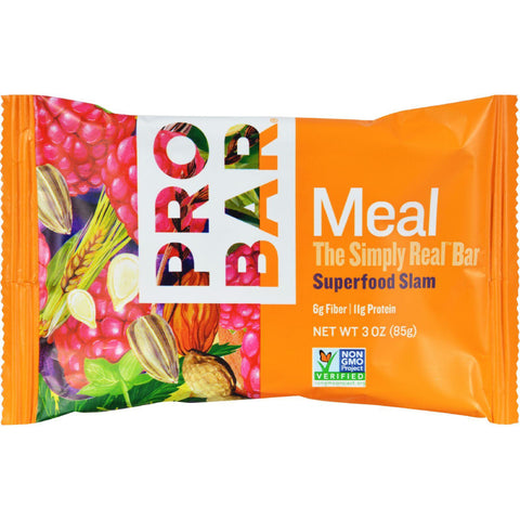 Probar Organic Superfood Slam Bar - Case Of 12 - 3 Oz