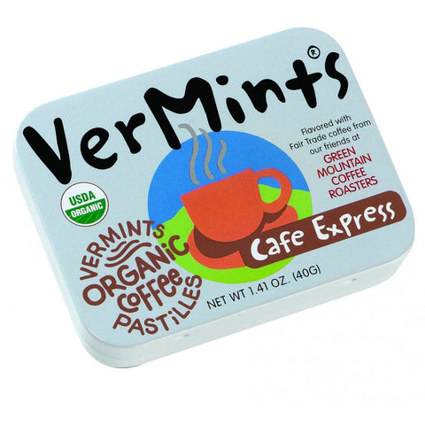 Vermints Pastilles - All Natural - Cafe Express - 1.41 Oz - Case Of 6