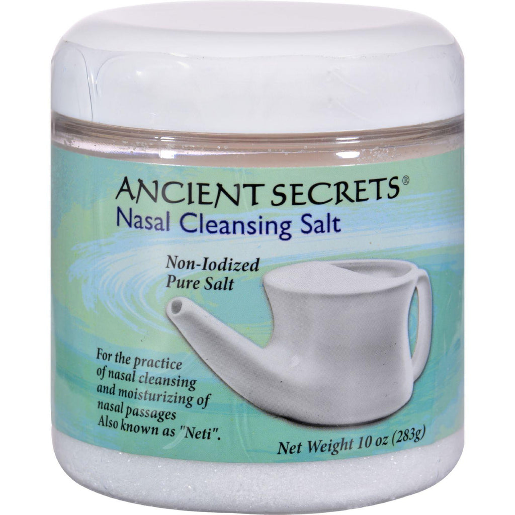 Ancient Secrets Nasal Cleansing Salt - 10 Oz