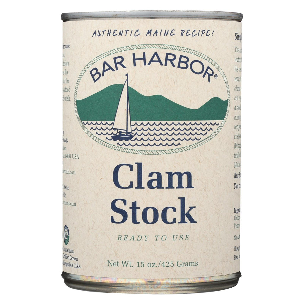 Bar Harbor Clam Stock - Case Of 6 - 15 Oz.
