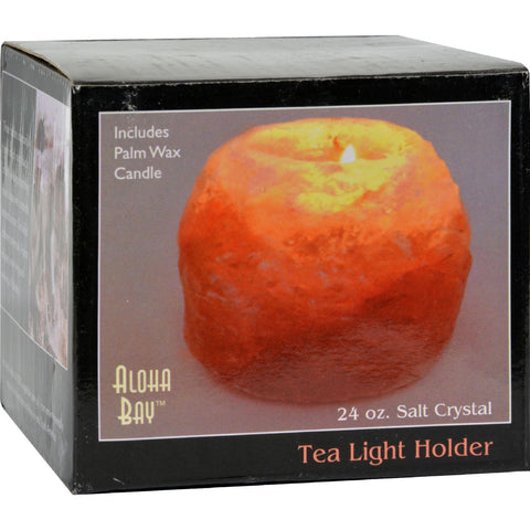 Himalayan Salt Tea Light Holder - 1 Candle