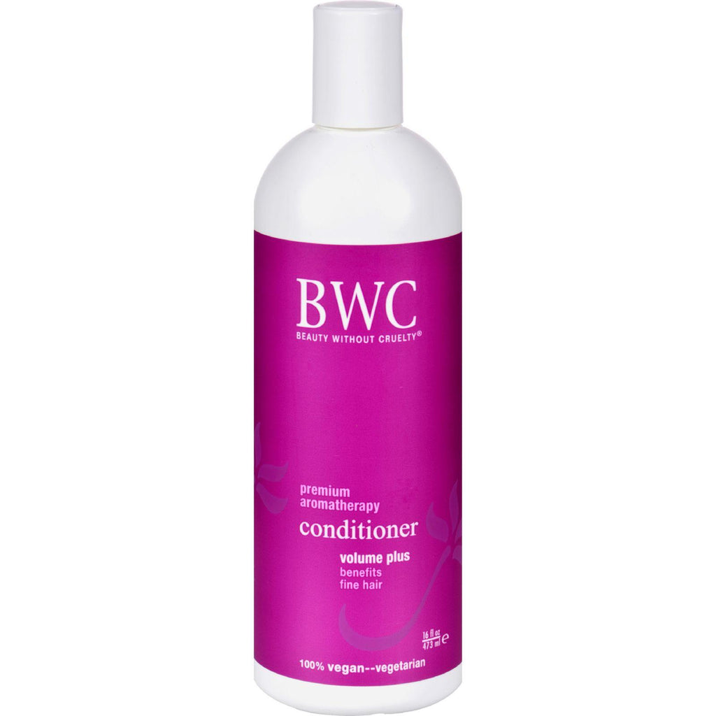 Beauty Without Cruelty Conditioner Volume Plus - 16 Fl Oz