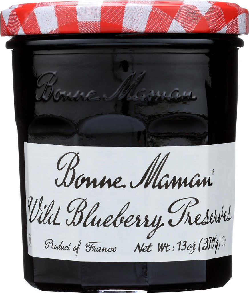 Bonne Maman Conserve - Wild Blueberry - Case Of 6 - 13 Oz.