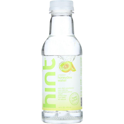 Hint Water - Honeydew - 16 Oz - Case Of 12
