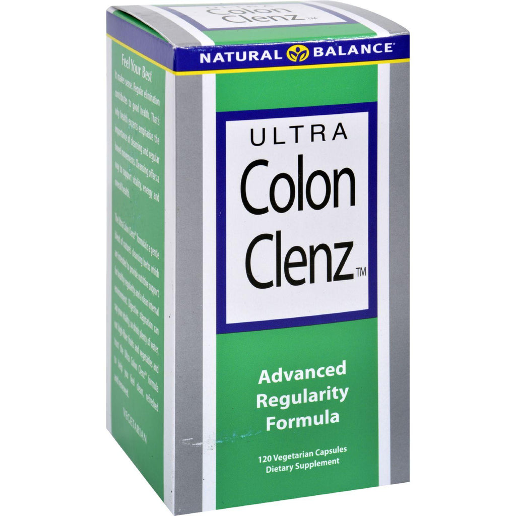 Natural Balance Ultra Colon Clenz - 120 Vegetarian Capsules