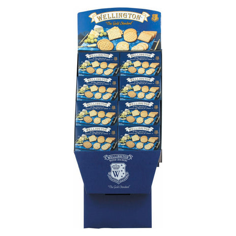Wellington Display - Crackers - Case Of 48 - 8.8 Oz