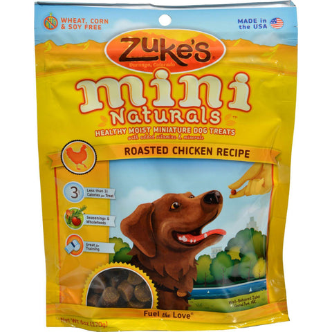 Zuke's Mini Naturals Dog Treats Chicken - 6 Oz