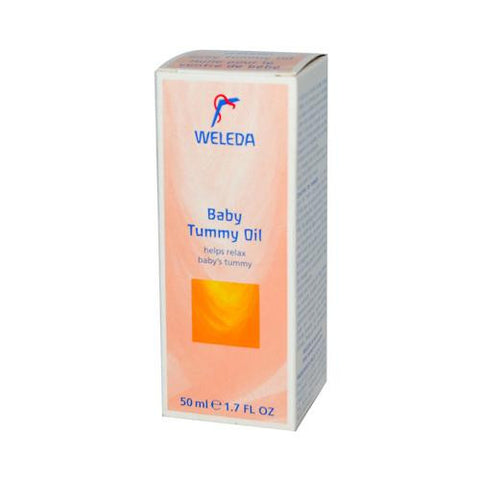 Weleda Baby Tummy Oil - 1.7 Fl Oz