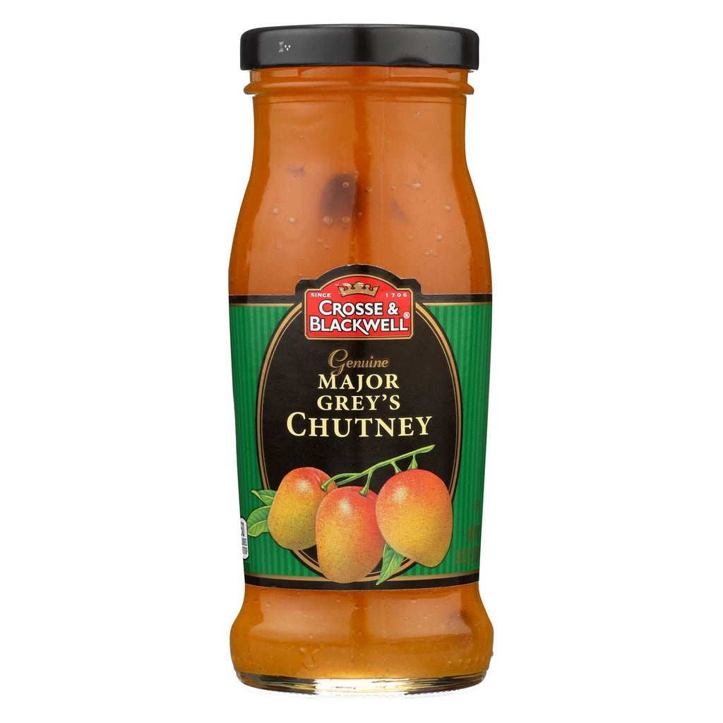 Crosse And Blackwell Chutney - Major Gerry's Chutney - Case Of 6 - 9 Oz.