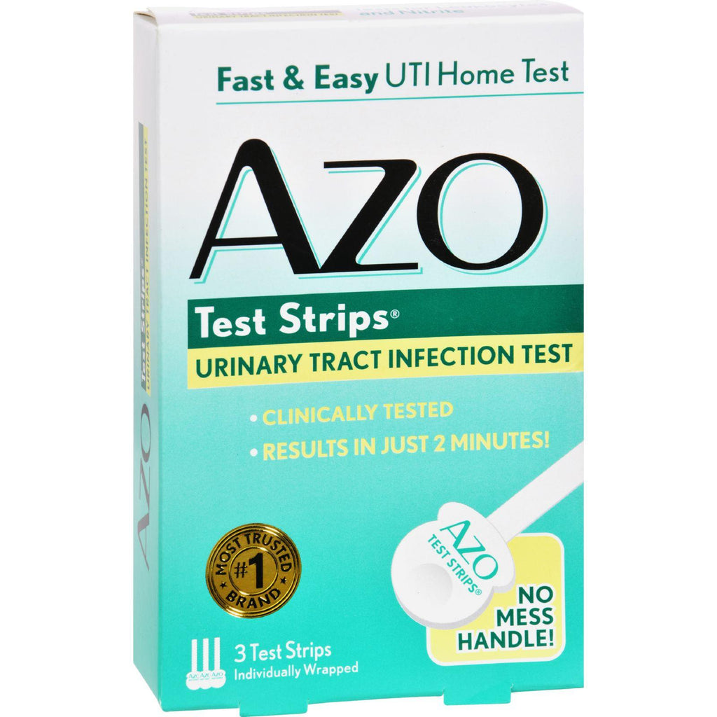 Azo Test Strips - 3 Test Strips