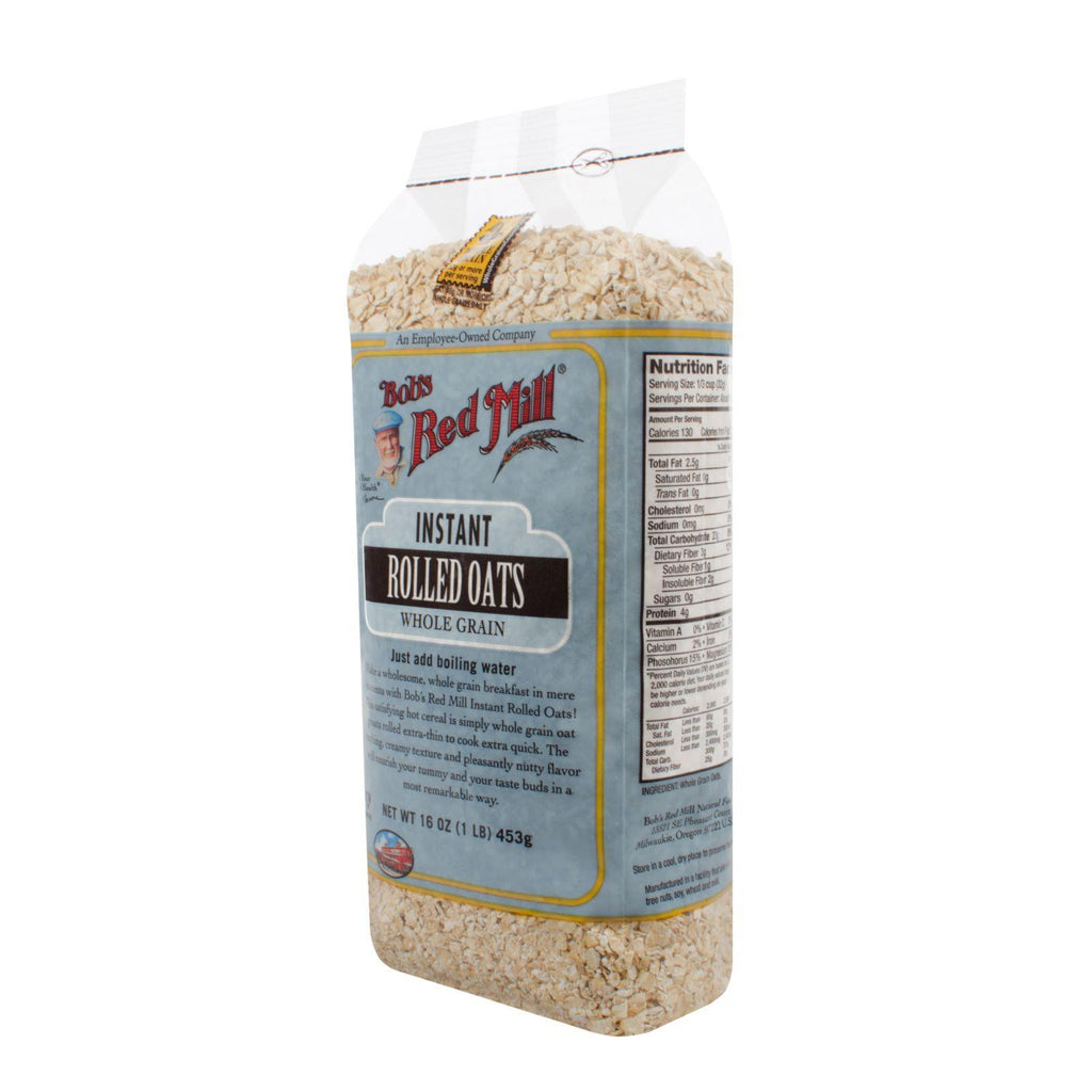 Bob's Red Mill Instant Rolled Oats - 16 Oz - Case Of 4