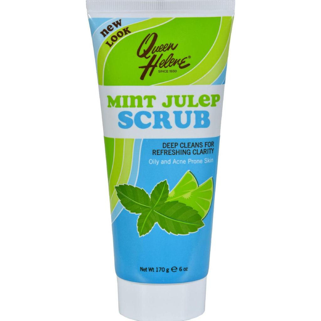 Queen Helene Refreshing Natural Facial Scrub Mint Julep - 6 Oz