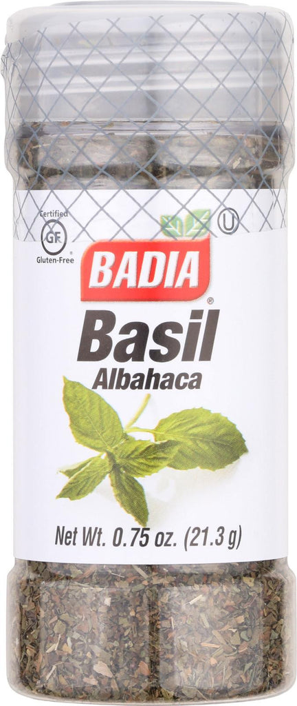 Badia Spices Sweet Basil - Case Of 12 - 0.75 Oz.