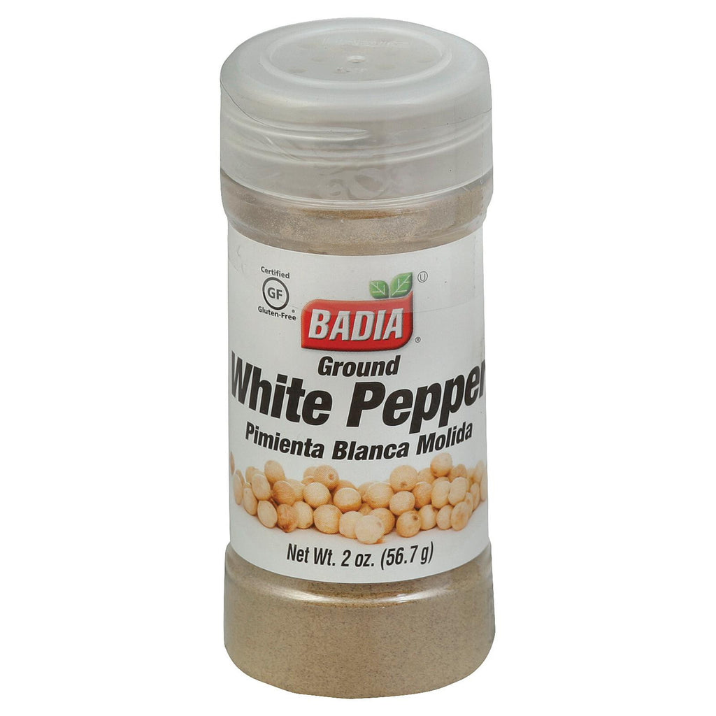 Badia Spices Ground White Pepper - Case Of 12 - 2 Oz.