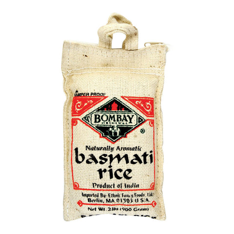 Bombay White Rice - Case Of 12 - 2 Lb.