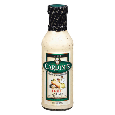 Cardini's Dressing: Light Caesar - Case Of 6 - 12 Fl Oz