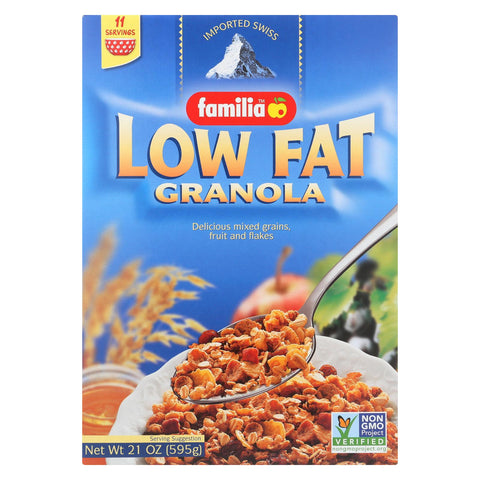 Familia Granola - Low Fat - Case Of 6 - 21 Oz.