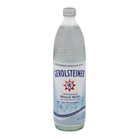 Gerolsteiner Mineral Water - Case Of 15 - 25.3 Fl Oz.