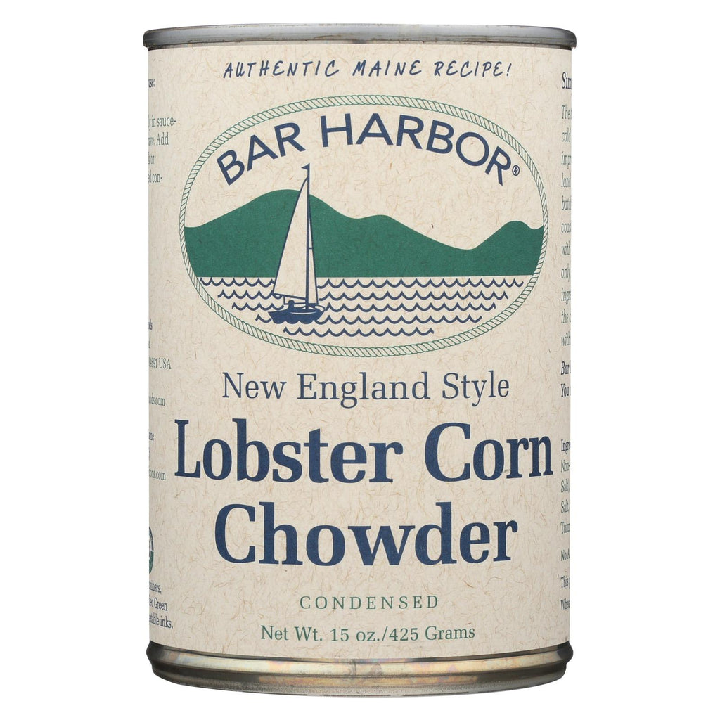 Bar Harbor Lobster Corn Chowder - Case Of 6 - 15 Oz.