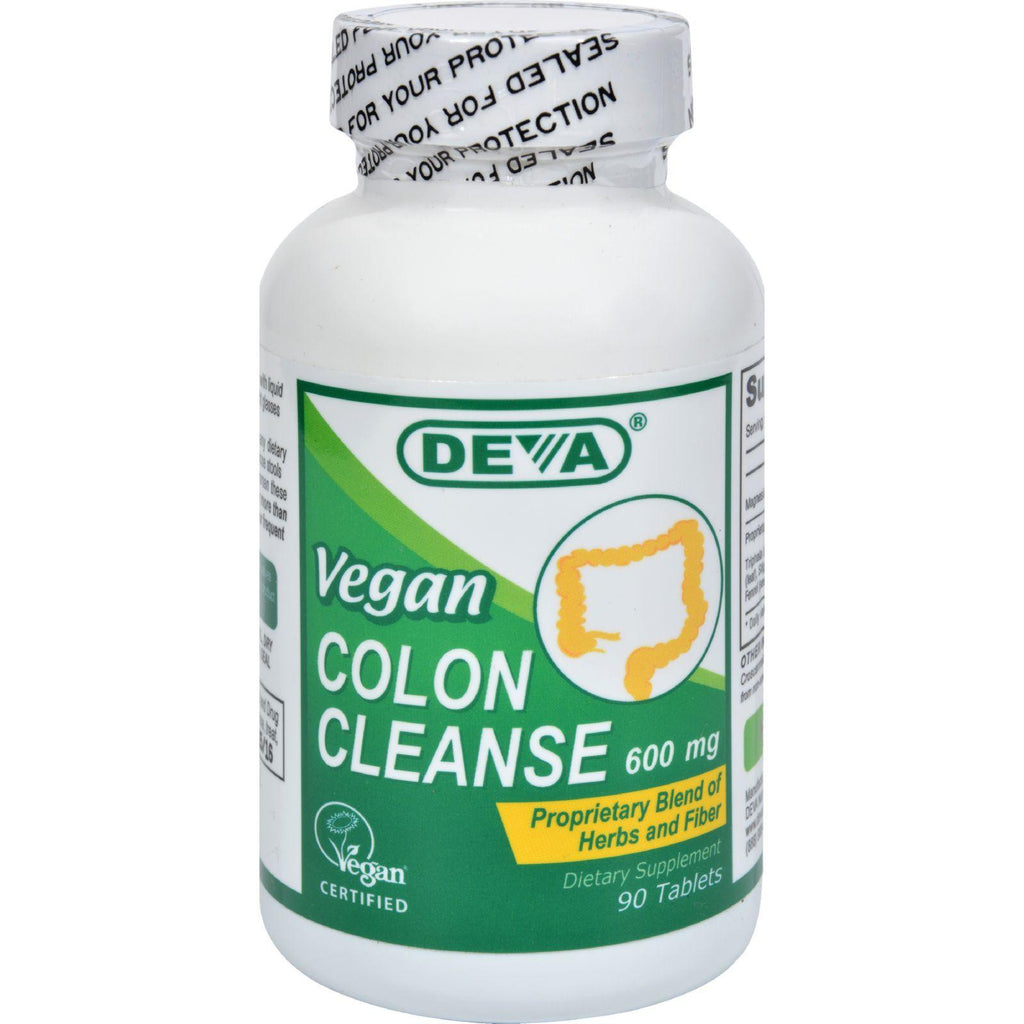 Deva Vegan Colon Cleanse - 595 Mg - 90 Tablets
