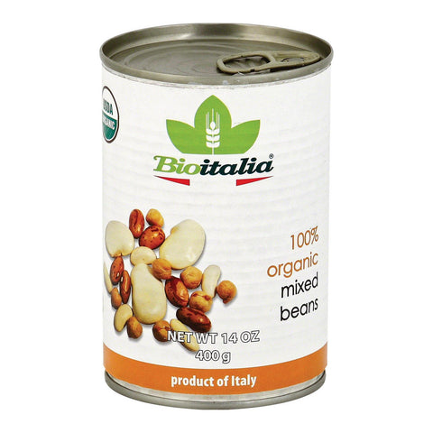 Bioitalia Beans - Mixed Beans - Case Of 12 - 14 Oz.