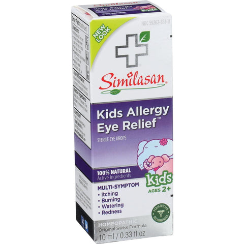 Similasan Allergy Eye Relief - Kids - .33 Oz