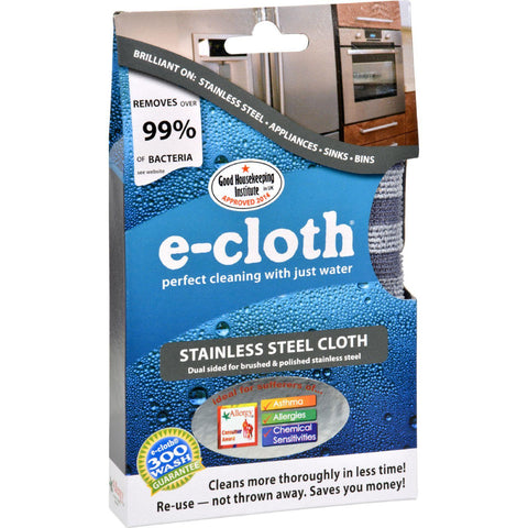 E-cloth Stainless Steel Cleaning Cloth