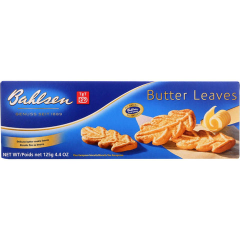 Bahlsen Cookies - Butter Leaves - 4.4 Oz - 1 Each